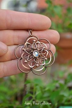 Eclectic Wire Wrapped Jewelry #wirejewelry