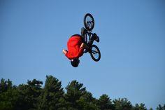 Skyrider by Claude Charbonneau on Stunts, Bmx, Bicycles, Cycling, Biking, Waterfalls, Bicycling, Bike, Bicycle