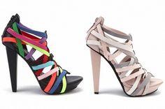Tendencias de Zapatos de Fiesta con mucho Color