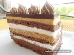 Grandisimo torta - Recepti na brzinu Pastry Recipes, Sweets Recipes, Baking Recipes, Cookie Recipes, Torte Recepti, Kolaci I Torte, Desserts To Make, Delicious Desserts, Brze Torte