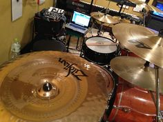 I beat a drum!!