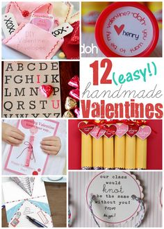 12 fun valentines to make