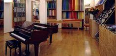 Shops in Zurich – Fabric Frontline. Hg2Zurich.com.