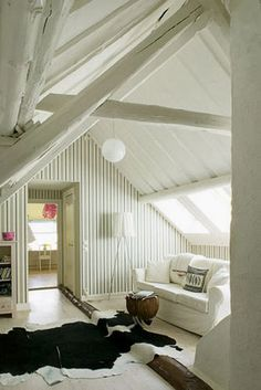 Finished attic- maybe one day