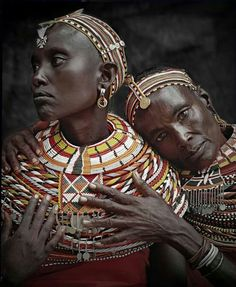 Samburu women, Kenya Sensational images of indigenous peoples by photographer Jimmy Nelson, from his book 'Before They Pass Away. African Tribes, African Women, African Art, African Countries, We Are The World, People Around The World, Beauty Around The World, Seydou Keita, Jimmy Nelson