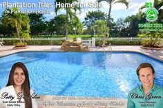FOR SALE ~ Ocean access from your own backyard! Absolutely stunning Plantation Isles waterfront, pool home features ocean access, open, split floor plan with 4 beds plus a den/bonus room/office, living and family rooms, bright kitchen with stainless steel appliances, tile and pergo flooring, remodeled baths. Call Patty at 954-667-7253 and visit www.Patty.WeLoveSouthFlorida.com
