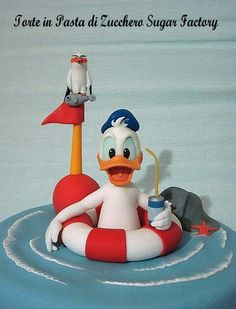 Donald duck really cool.