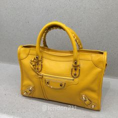 Small Metallic Edge in Yellow RM6,400 ❤❤❤ it? Order now. Once it's gone, it's gone! Just WhatsApp me +44 7535 715 239, Erwan.  Click my account name for other great items. #l2klBalenciaga #l2klBalenciaga #l2klBalenciaga