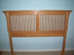 Arts Crafts Bed Woodworking Plan Mission Style Mooie En Slimme