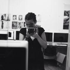 """Self portrait, Soho 2012 #hasselblad #mediumformat #film #filmphotography #analog #ishootfilm #kodaktx #newyork #nyc #soho"""