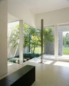 semi-enclosed garden room