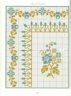 Borders in cross stitch 15
