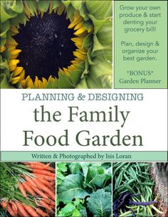 Planning & Designing the Family Food Garden- Book Cover