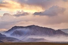 """""""Boulder Colorado Flatirons and The Flagstaff Fire"""" by James """"BO"""" Insogna, Boulder / Longmont - Colorado - Boulder County // A view of the famous Boulder Colorado flatirons with smoke from the Flagstaff wildfire hanging on NCAR at the foothills of the Rocky Mountains at sunset. Fine art nature landscape photography prints, decorative... // Imagekind.com -- Buy stunning, museum-quality fine art prints, framed prints, and canvas prints directly from independent working artists and…"""