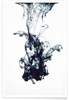 Sudden Movement als Premium Poster von Studio Nahili   JUNIQE