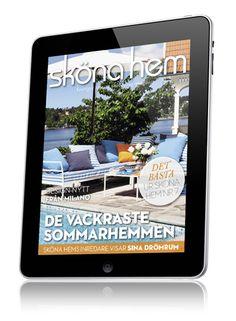 Skona Hem Interior Design Magazine & iPad App - Features home decor, gardens, design ideas, furniture, new products, & diy projects