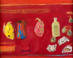 Dame Elizabeth Blackadder Elizabeth Blackadder, Staffin, Skye Elizabeth Blackadder, Still Life with Goblet Elizabeth. Action Painting, Painting & Drawing, Blackadder, National Portrait Gallery, Art Pictures, Still Life, Abstract Art, Art Pieces, Drawings