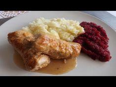 Roladki schabowe | Kuchnia Marzenki - YouTube Pork, Chicken, Meat, Youtube, Kale Stir Fry, Pigs, Cubs, Kai