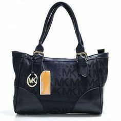 Polyvore Spring Outfits | 80 Michael Kors Medium MK Logo PrintShoulder Bag Black : Michael Kors ...
