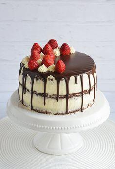 Paleo, Sugar Candy, Strawberry Cakes, Cookie Desserts, Cake Cookies, Tiramisu, Panna Cotta, Cake Recipes, Cheesecake