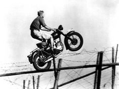 """Steve McQueen on a Triumph Trophy while filming """"The Great Escape"""". My late father introduced me to Steve McQueen films, such a rare and treasured shared interest. Steve Mcqueen Triumph, Steve Mcqueen Motorcycle, Motorcycle Art, Moto Bike, Blitz Motorcycles, Vintage Motorcycles, British Motorcycles, Honda Motorcycles, Triumph Motorbikes"""