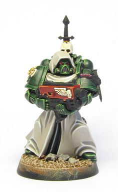 Tutorial: How to paint Dark Angels (from Dark Vengeance) - Tale of Painters