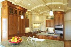 Classic, timeless kitchen design with stunning ceilings. Discovered on search.porch.com #interiors #interiordesign #decor