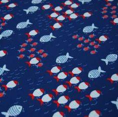 Hilco Fish Crew, Jersey, 20,90 EUR / Meter - Bild vergrößern Kids Rugs, Fish, Fabric, Fabrics, Tejido, Kid Friendly Rugs, Nursery Rugs