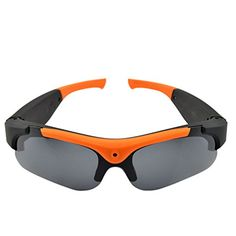 KINGMAK(TM) HD 720P Eyewear Video Recorder Sunglasses Camera Recording DVR Glasses Camcorder 5 Mega pixels 1280X720,Best Cheapest Hidden Cam(Yellow-Black) *** To view further for this item, visit the image link.