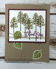 Thoughtful Branches August Special Bundle from Stampin' Up! by www.mystamplady.com