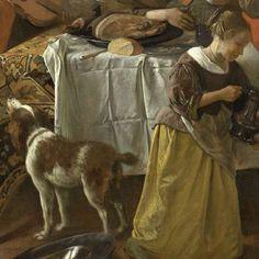 Het vrolijke huisgezin, Jan Havicksz. Steen, 1668 - Dagelijks leven (schilderijen) - Kunstwerken - Ontdek de collectie - Rijksmuseum