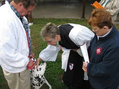 Blessing of the Animals, St. Francis Church in Eureka