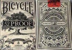 52 Proof Bicycle Playing Cards Deck