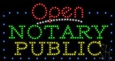 Notary Public Sign #notary