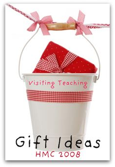Visiting Teaching Gift Ideas