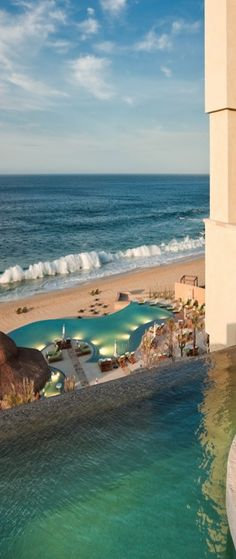 Capella Pedregal, Cabo San Lucas, Mexico--never going to Mexico but beautiful. Places Around The World, Oh The Places You'll Go, Travel Around The World, Places To Visit, Around The Worlds, Vacation Places, Dream Vacations, Vacation Spots, Places To Travel
