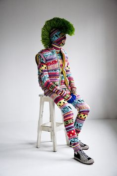 Knit Monster by SIBLING, 2010.  The History of Art | The Institute of Contemporary Art's traces development of London's subculture creatives from 1980s to now.