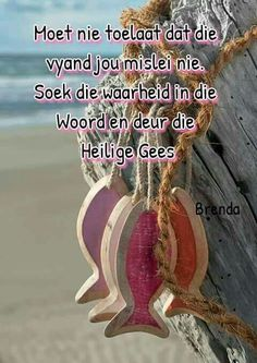 Moet nie toelaat dat die vyand jou mislei nie All Quotes, Qoutes, Afrikaanse Quotes, Living Water, Spiritual Warfare, I Deserve, Religious Quotes, You Are The Father, Christian Quotes
