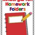 This packet includes everything you need to set up your kindergarten homework. Choose from a variety of covers to be used in clear view binders or ...