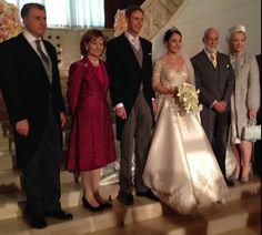 Principesa Margareta şi Principele Radu la nunta Principelui moştenitor Leka al Albaniei cu Principesa Elia, Tirana, 2016.