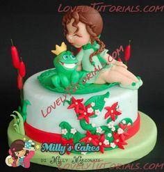 Лягушка, frog,Frosch,žába,rana - Страница 5 - Мастер-классы по украшению тортов Cake Decorating Tutorials (How To's) Tortas Paso a Paso