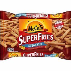 Mccain Superfries Steak Cut 900g Steak Cuts, Online Supermarket, Snack Recipes, Snacks, Healthy Options, Potato, Fries, Cooking, Food