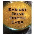 The Easiest Bone Broth Recipe Ever detox soup broth Dr Axe Bone Broth, Best Bone Broth Recipe, Real Food Recipes, Soup Recipes, Crockpot Recipes, Bobe, Good Bones, Detox Soup, Diet