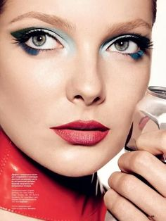 Eniko Mihalik by Walter Chin for Allure Russia August 2013