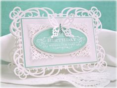 Butterfly Birthday Wishes and Giveaway Link!: Spellbinders dies, JustRite Stamps, and a giveaway for a short time.