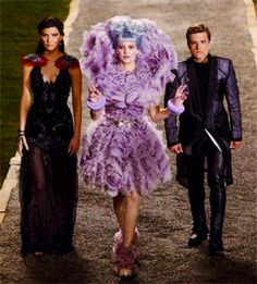 Katniss Effie and Peeta catch fire, the hunger, costumes, catching fire, hunger gameslov, dresses, burlesque, inspired outfits, china