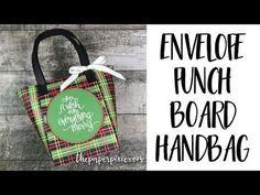 Envelope Punch Board Handbag - YouTube