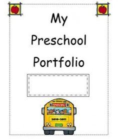 My Preschool Portfolio and sample lesson plan Preschool Memory Book, Preschool Binder, Preschool Assessment, Preschool Workbooks, Preschool Centers, Kindergarten Readiness, Preschool Curriculum, Preschool Printables, Preschool Classroom