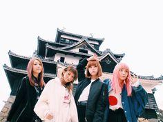 SCANDAL scandal band haruna ono rina suzuki mami sasazaki tomomi ogawa