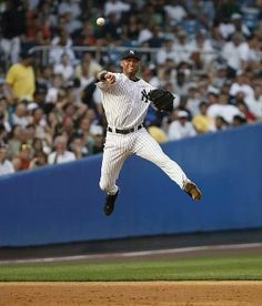 Derek Jeter an athlete, a gentleman, a class act. Everything I could ever want in a husband
